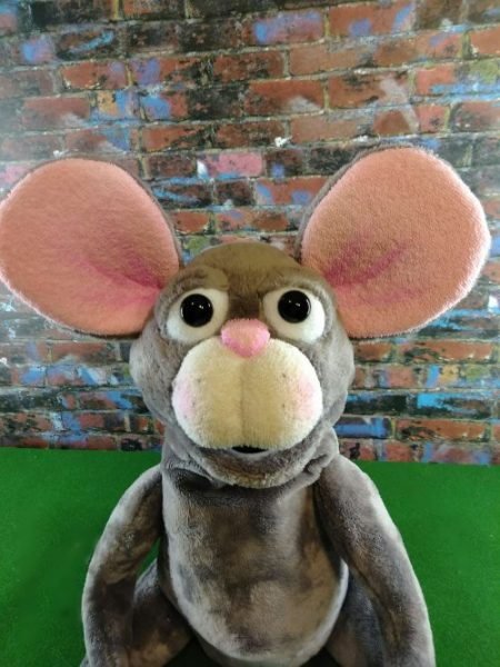 SOLD – Little Gray Mouse (K-05)